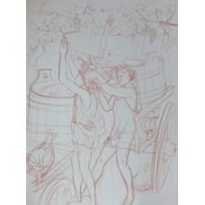 Amours Pastorales de Daphnis et Chloe.  ΔΑΦΝΗ ΚΑΙ ΧΛΟΗΣ. Version d'Amyot revue et completee par P.-L. Courier.